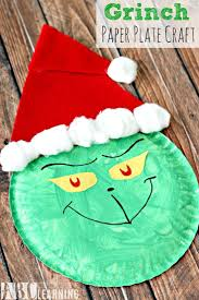 grinch paper plate craft paper plate crafts craft activities