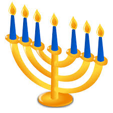 menorah 7 candles free clipart