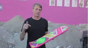 lexus un hoverboard lexus présente slide un hoverboard inspiré de retour vers