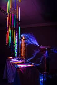 tesla coil fluorescent lights tesla coil fluorescent light