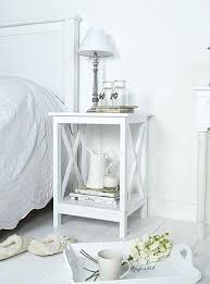 white table for bedroom best small bedside tables ideas on Small White Side Table