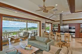 Outdoor Living Floor Plans by The Bay House Interiors Archipelago Hawaii Luxury Home Design