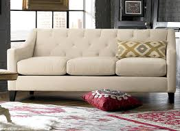 Navy Tufted Sofa by Charming Art Curved Theatre Sofa Dramatic Sofa Modular Oppa