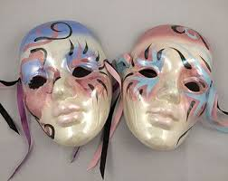 ceramic mardi gras masks for sale 51 best venetian masquerade carnival masks images on