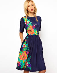 today u0027s obsession 5 fun floral dresses under 75 asos forever21