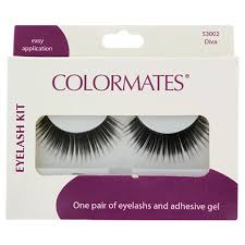 bulk colormates diva false eyelashes with adhesive at dollartree com