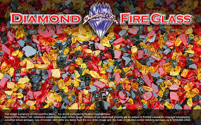 Fire Pit Crystals by Red Nectar Premixed Fire Pit Glass Crystals