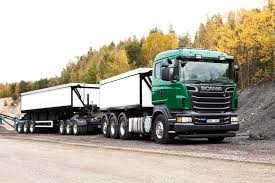 efficient outbound ore haulage with new scania rigs scania group