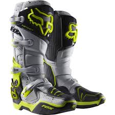 sixsixone motocross boots fox racing 2016 limited edition instinct a1 kroma boots grey