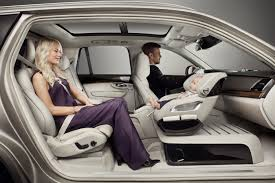 luxury family car volvo cars adds a little luxury with excellence child seat concept