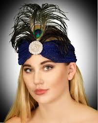 1920s headband 1920 s turban headband nostalgia