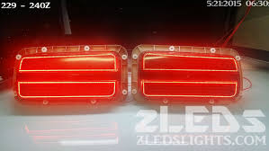 custom led tail lights datsun 240z custom sequential led tail light by zleds youtube