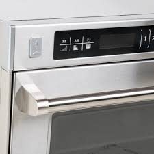 amana amso35 heavy duty commercial steamer microwave oven 208
