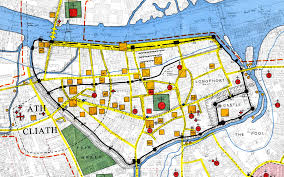 Black Death Map Ever Wondered Where Medieval Dubliners Went For A Pint