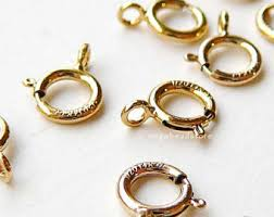 gold necklace clasps images Gold necklace clasp etsy gold clasp for necklace the jpg