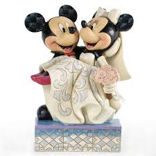 congratulations mickey u0026 minnie wedding figurine figurines