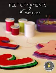 how to make felt ornaments with tinkerlab