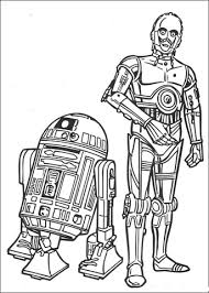 r2d2 c3po coloring free printable coloring pages