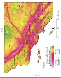 County Map Of Los Angeles by Limitations Of The Microtremor Method A Case Study In The Los