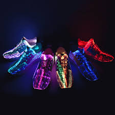 light up shoes comfortable gracosy energy lights up recharging shoes newchic