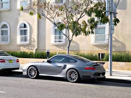 porsche turbo 996 file grey porsche 996 turbo with 996 gt2 rear wing jpg wikimedia
