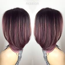rose gold lowlights on dark hair image result for rose gold balayage on dark brown hair