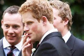 prince harry does prince harry smoke royal to give up cigarettes for new bride