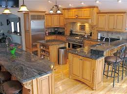 oak kitchen island with granite top kitchen images about granite counter tops islands inspirations