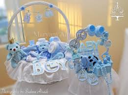 baby shower baskets blue and white royal baby shower baby shower ideas themes