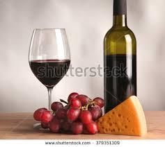 wine bottle cheese trays illustration bottle glass wine stock vector 374209357