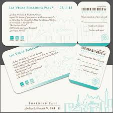 Wedding Samples Boarding Pass Wedding Samples Archives Invitations By R2