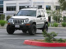 jeep liberty lifted blue jeep liberty lifted wallpaper 1024x768 36257