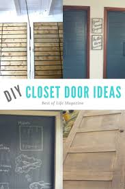 Diy Closet Door Diy Closet Doors Ideas For Every Budget The Best Of