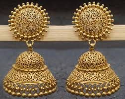 jhumkas earrings jhumka earrings etsy
