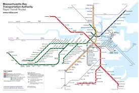 Dc Metro Silver Line Map by Project Boston Mbta Map Redesign Cameron Booth