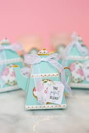 tea cup favors diy bridal shower tea bags with coffee filters