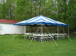 canopy tent rental rent 20x20 ft blue white canopy tent in chicago il canopy