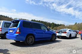 purple subaru forester subaru forester sti 6 may 2017 autogespot