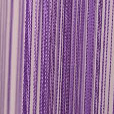 purple string curtain
