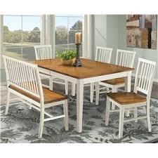 Dining Table Chairs And Bench - intercon arlington dining table with slat back bench u0026 slat back