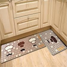 tapis de sol cuisine polyester imprimé cuisine tapis tapis sol confortable paillasson