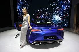 lexus lc500h price canada lexus lc 500h hybrid awaits admirers to flock
