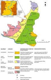 Map Of Md Hydrogeological Map Of Birbhum District Source Cgwb Technical