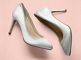 wedding shoes rainbow billie ivory shimmer court shoes the bridal lounge highgate