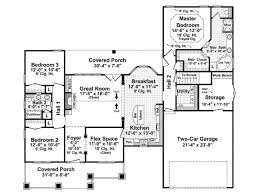 Single Story Farmhouse Plans 2 Bedroom Single Story House Plans House Plans