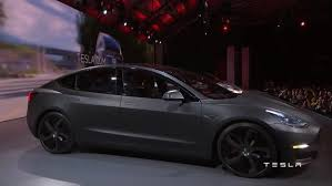 tesla model 3 unveiled today promises to be most affordable