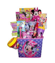 minnie mouse easter baskets buy jumbo minnie mouse ultimate gift basket for
