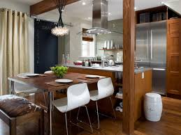 Kitchen Island With Table Mission Style Kitchen Cabinets Pictures U0026 Ideas From Hgtv Hgtv
