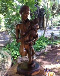 jamaican wood sculptures wooden sculptures by the artist from jamaica conard artsy