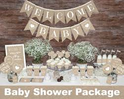 rustic baby shower rustic baby shower decorations printable gender neutral baby